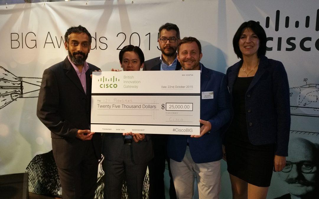 2nd place at Cisco BIG awards