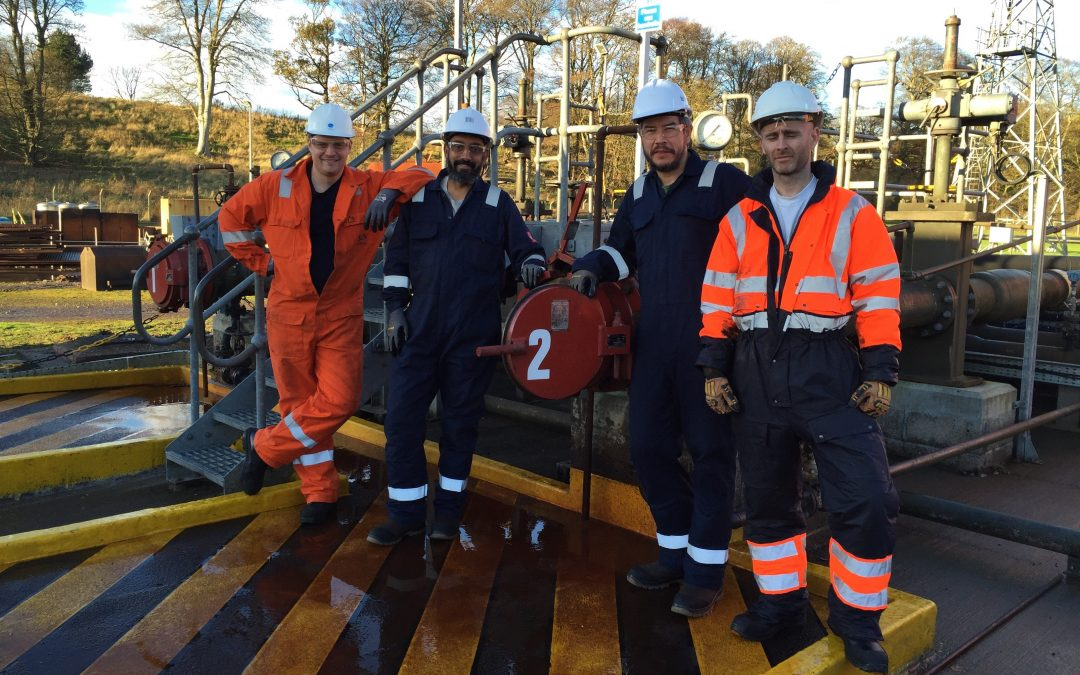 Training new personnel at Petrofac facility