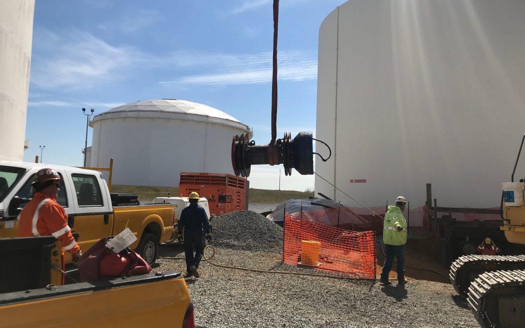 Tank Farm 24″ Pipeline Inspection