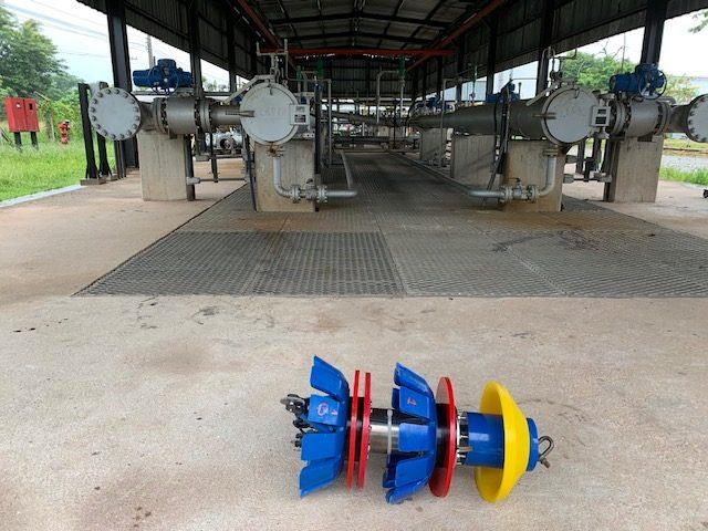Patrol pig – Testing for Illegal taps in Brazil